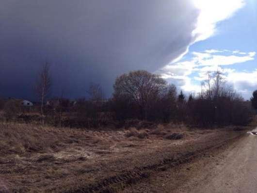 Продается земельный участок 18 соток в дер. Бурково, Можайский р-он, 120 км от МКАД по Минскому шоссе. Фото 1