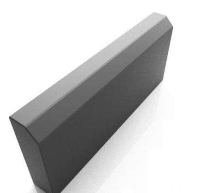 Бордюр серый 500*210*45 мм