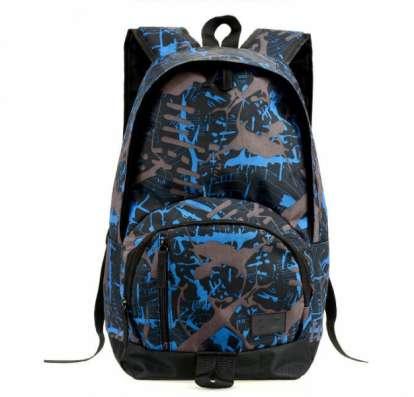 Рюкзак спортивный синий мужской