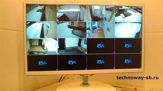 Установка систем видеонаблюдения,видеодомофонов, СКУД