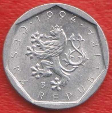 Чехия 20 геллеров 1994 г.