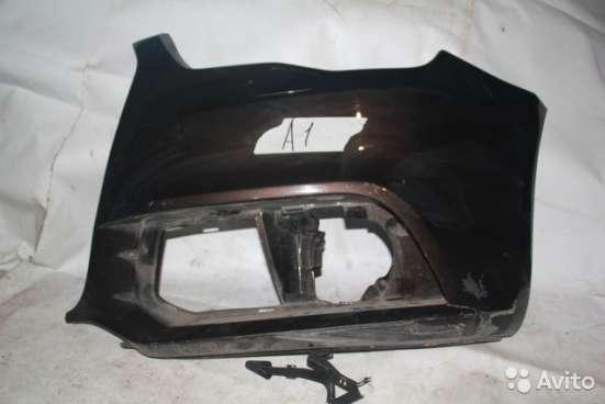 Левая часть бампера на Audi A1