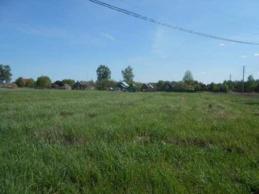 19 соток в деревне Бычково, Можайский р-он, 121 км от МКАД по Минскому шоссе.