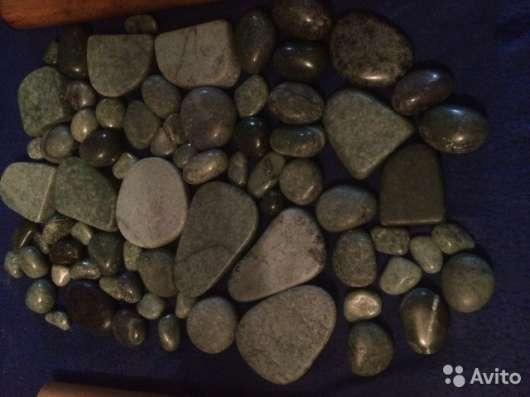 Камни Жадеит для стоунтерапии и массажа