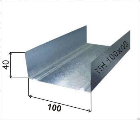 Профиль Албес ПН 100х40, 0,55мм, 3-хметровый