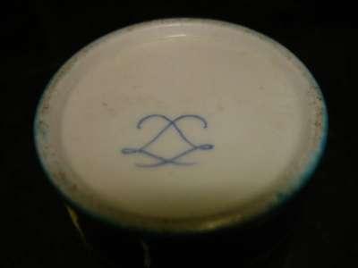 старинный стаканчик(фарфор,роспись)