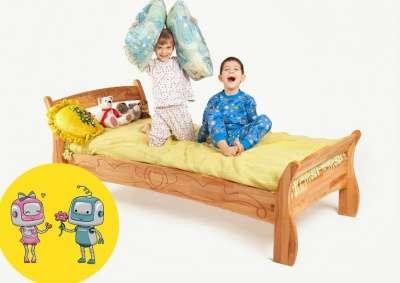 Буковка Б-18 односпальная кровать из нат