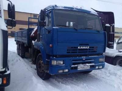 грузовой автомобиль КАМАЗ 65117