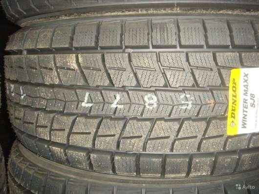 Новые японские Dunlop 215/65 R16 Winter Maxx SJ8 в Москве Фото 2