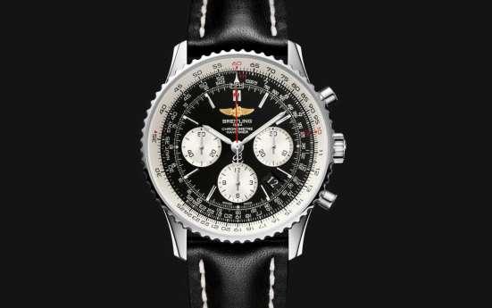 Часы Breitling Navitimer, портмоне Montblanc в подарок