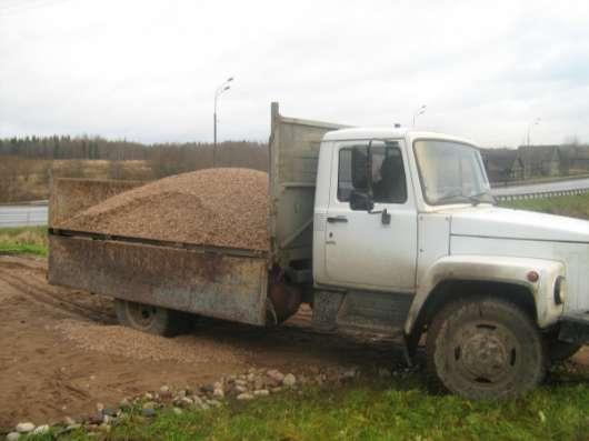 Песок щебень пгс отсев плетняк торф вывоз мусора по 5-13 тонн