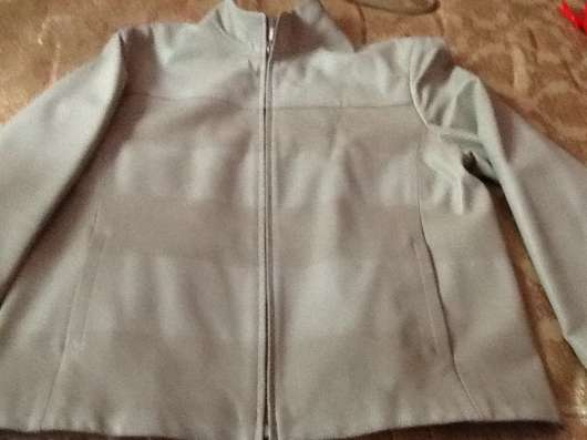 Продам мужская кожаная куртка. Размер 52-54