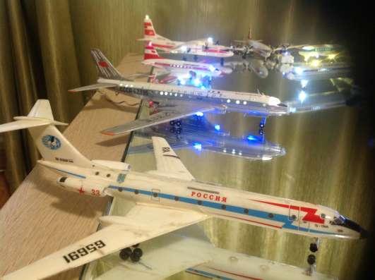 Модели самолетов. Аэропорт Советского Срюза