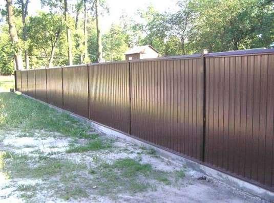 Забор под ключ в Кирове и по всей Кировской области