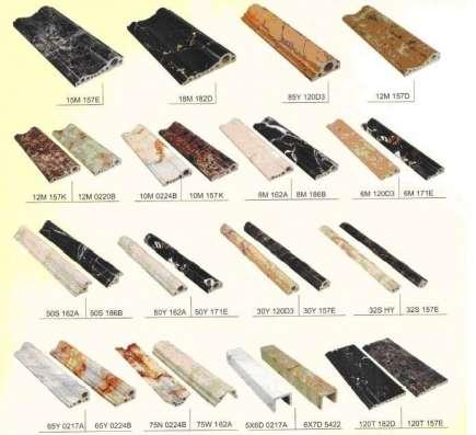 Декоративный багет, плинтусы (фризы) из ПВХ шириной 150мм