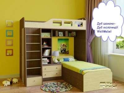 Детская двухъярусная кровать РВ мебель Астра 4 в Москве Фото 2