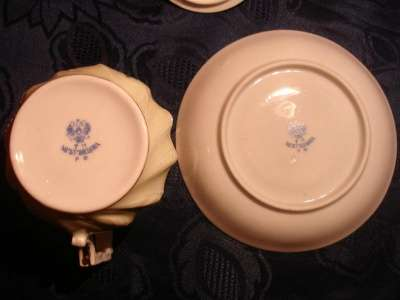 РУСС.СТИЛЬ:чайная пара с крышкой,роспись