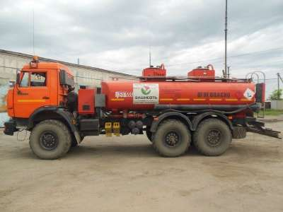 топливозаправщик КАМАЗ 43118 в г. Усинск Фото 2
