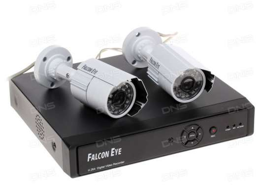 Система видеонаблюдения Falcon Eye FE-104D KIT Light