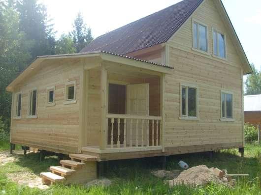 Строим дома бани фундаменты гаражи отделка под ключ вся Мо
