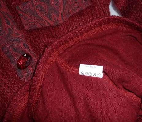 Рубашка вязаная, шерсть (мохер), р-44(46) в Новосибирске Фото 2