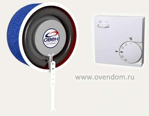Клапан приточной вентиляции Овен с подогревом воздуха