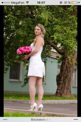 Продам свадебное коктельное платье в Москве Фото 1