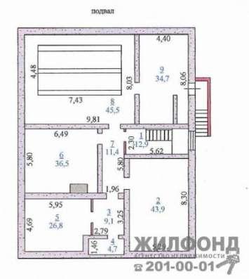 коттедж, Бердск, Лесная 1-я, 625 кв.м. Фото 5