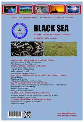 Black Sea Scientific Journal of Academic Research