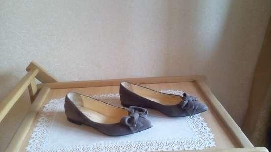 Туфли-натуральная замша