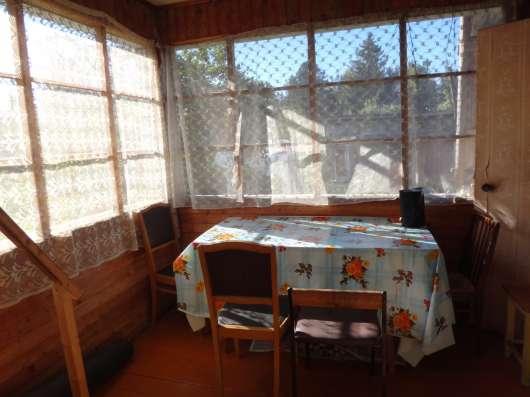 Продам дачу в Строганово 60м2 с печью светом водой ухожеуму