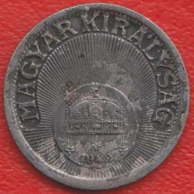 Венгрия 10 филлеров 1942 г в Орле Фото 1