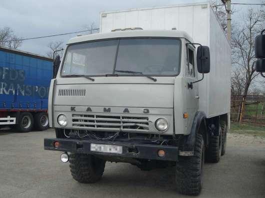 Термобудка КАМАЗ – 43114, вездеход