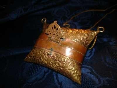 Старинная сумочка-кошелек 19 век