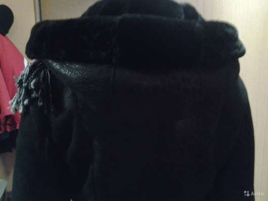 Дублёнка с капюшоном в Дзержинске Фото 1