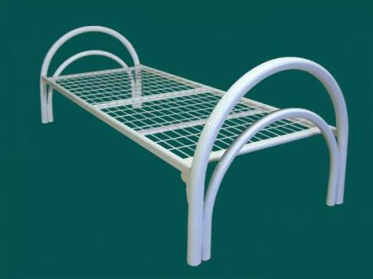 Железные армейские кровати, одноярусные металлические для больниц, бытовок, общежитий, интернатов, школ. От производителя. Низкая цена.