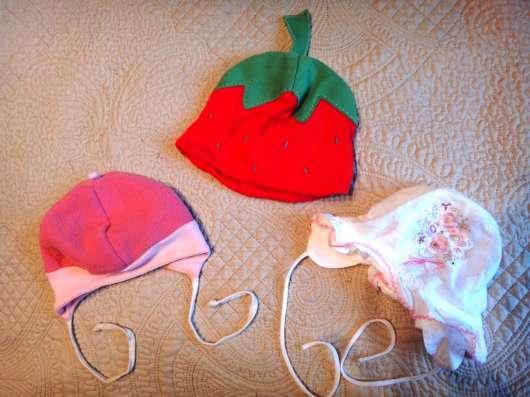 Шапочки с рождения до трех лет на девочку в Екатеринбурге Фото 3