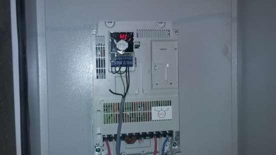 Услуги по внедрению и ремонту преобразователей частоты