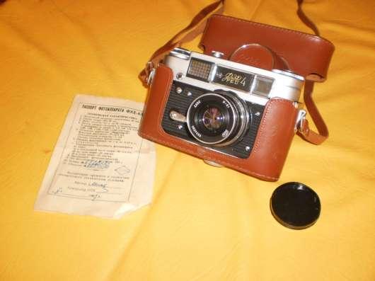 Фотоаппарат ФЭД 4 с набором фотолюбителя в Санкт-Петербурге Фото 1