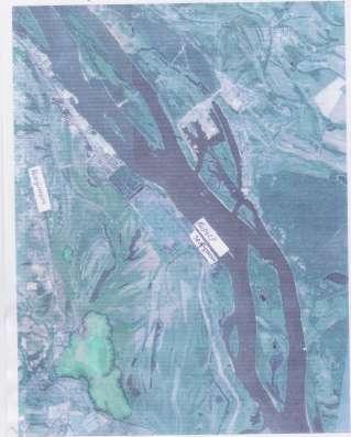 Земля промназначения непосредственно на берегу Волги