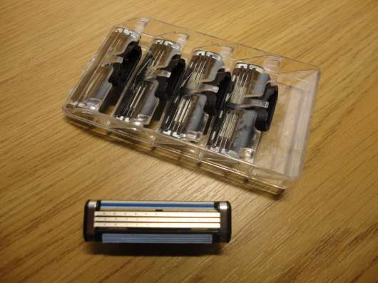 Лезвия кассеты для бритья Джилет - Gillette Mach 3 в г. Сумы Фото 1