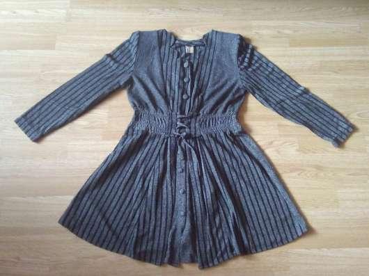 Платье темно-серое 46-48 размера, в хорошем состоянии