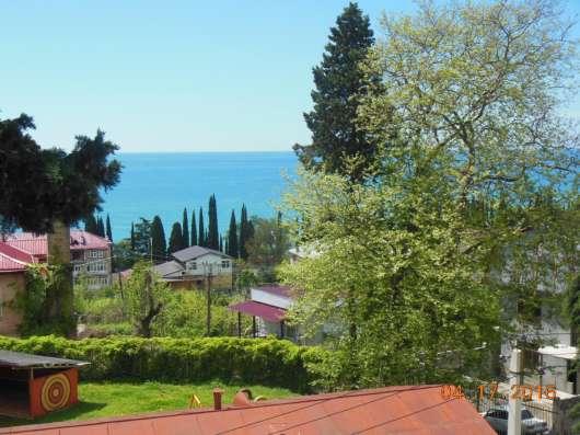 В Абхазии в Новом Афоне сдам 1-2 комнаты рядом с морем