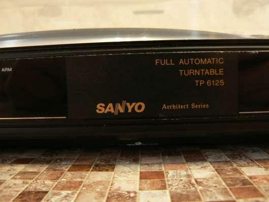 Виниловый проигрыватель Sanyo TP 6125 Japan