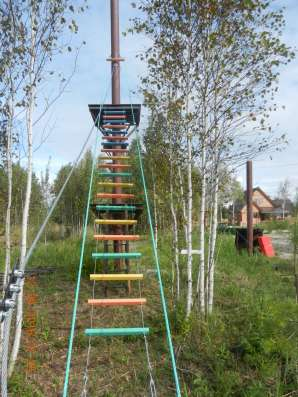 Веревочный парк, экстрим парк развлечений