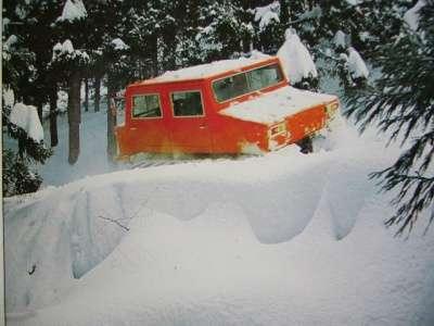 Снегоболотоход ISUZU SM20