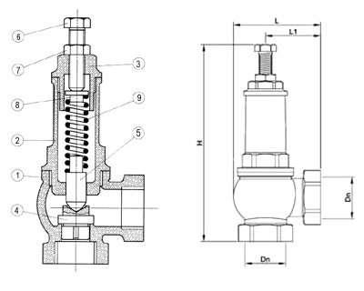 Газовый клапан (GN) на котлы Bosch