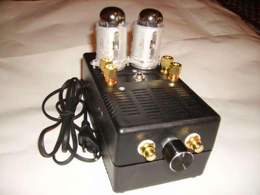 Ламповый однотактный усилитель на лампах 4п1л