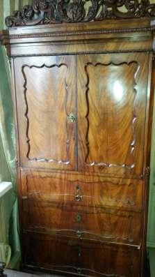Старинный письменный столик, Старинный шкаф Монашка в Москве Фото 2