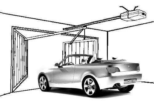 Автоматизация распашных гаражных ворот
